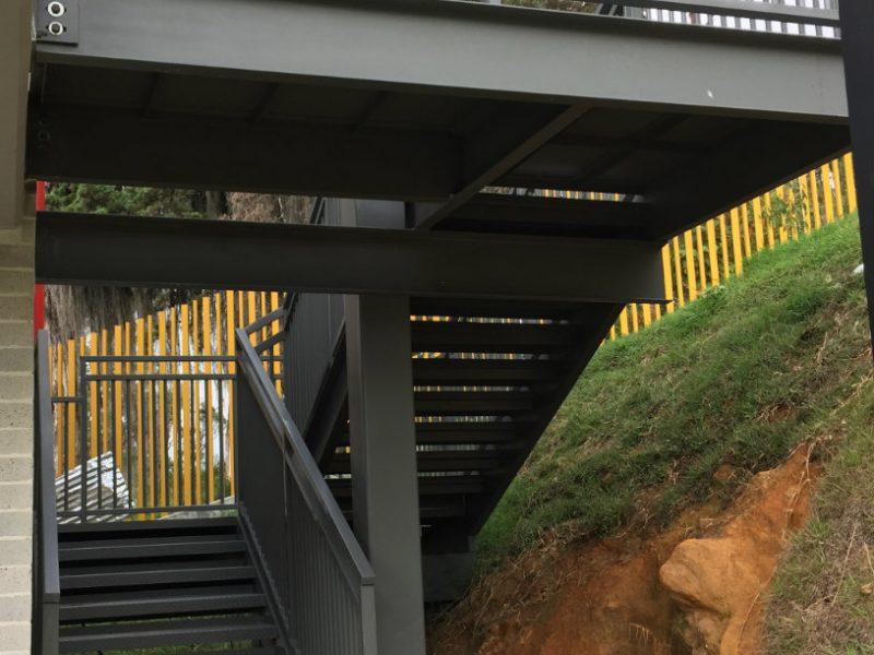 INDUACERAL S.A.S |Jardín infantil buen comienzo Lusitania | Industrias del acero y el aluminio | Metalmecánica Medellín | Estructuras metálicas Medellín | Carpintería metálica Medellín Colombia